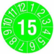 PROTEC.CLASS PPPP2015 Prüfplakette grün 2015