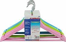 Protenrop 2708822 - Klassische  kleiderbügel holz farben