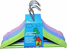 PROTENROP 2860763Kleiderbügel für Kinderbekleidung, 6Stück, mehrfarbig, Farbe