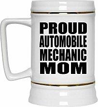 Proud Automobile Mechanic Mom - Beer Stein