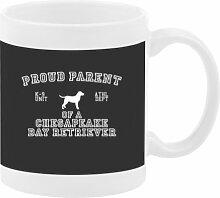 PROUD PARENT OF Chesapeake Bay Retriever Mug