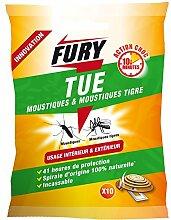Proven Orapi Spiralbindung Anti Mücken Schutzhülle Fury braun 12x 12x 3cm 1373001