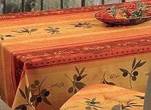 Provence-Tischdecke, ca. 300x150 cm, Cotto mit