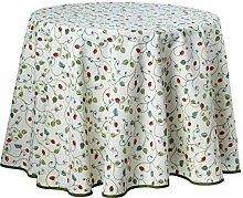 Provence-Tischdecke, Erdbeeren, pflegeleicht, ca.