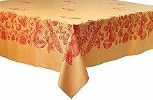 Provence Tischdecke Jacquard gewebt, ca. 160x160