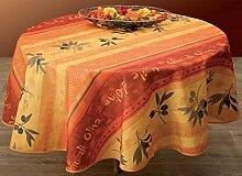 Provence-Tischdecke Olivio, Antitache, abwischbar