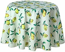 Provence-Tischdecke, rund 160 cm, Panama-PE,