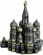 PROW City Retro Bronze Moskau Kreml Deko