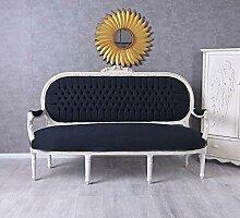 Prunksofa XXL Sofa Couch Barock Sitzbank Sofabank