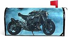 prz0vprz0v Sport Motorcycle Bike Magnetic Mailbox