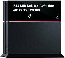 PS4 Lightbar LED Leisten Aufkleber (Pink)