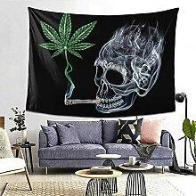 Psychedelic Weed Hippie Boho Blätter rauchen