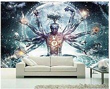 Psychedelisch Buddha mit Tausend Händen