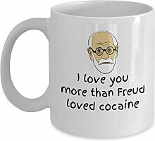 Psychologie Valentinstag Becher Geschenk - Ich