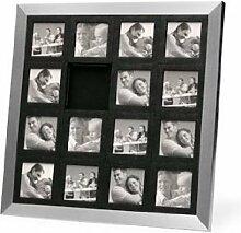 PT HOME CN255 Bilderrahmen Puzzle Stahl für 15