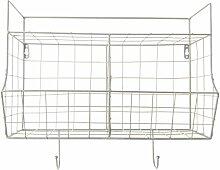 PT, PT2907WH Küchenregal, Metall, Weiß, One Size