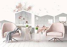 Ptcta Tapete einfache nordische IKEA