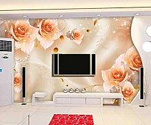 Ptcta Tapete Fantasie Sternenlicht Rose TV