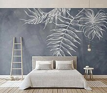 Ptcta Tapete IKEA Art Blatt Textur Marineblau