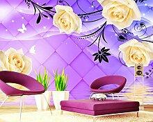 Ptcta Tapete Rose Reflection3DStereo TV
