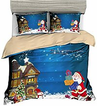 Pterygoid Collection Weihnachten Design Bettbezug