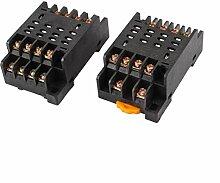 PTF14A 14Pins 8P DIN-Schienen-Relay Socket Basis 2Für HH64P