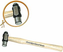 PTL Miniatur Mehrzweck Kugelhammer Planishing Juwelen Werkzeuge Prestige 170g #2258