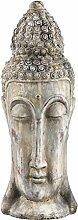 PTMD Buddhakopf aus Steinguss 40 cm