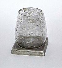 PTMD Windlicht 'Stone Glas' 18 cm