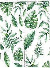 Pu Ran s¨¹?e Blumen Pflanze Muster Raumteiler T¨¹rgleis Vorhang Dekor mit Spannstange - 12 # 85cm x 100cm