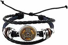 PU191 Armband aus Glas mit Cabochon-Motiv