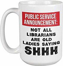 Public Service Announcement: Not All Librarians