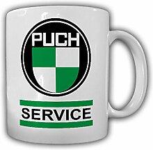 Puch SERVICE Wappen Puch-Werke Oldtimer Emblem Fan