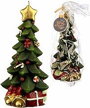 Puckator Weihnachtskerze für jeden Raum oder