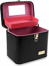 PUDDINGY® PU Beauty Box Make Up Case Kosmetik Box