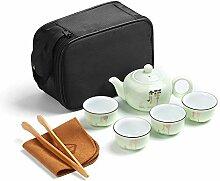 PUDDINGY® Tragbare Reise Kungfu Tee Set