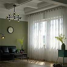 Pueri Fensterpaneele Leinen Baumwolle Vorhang