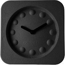Pulp Time - Wanduhr - Eckig - Schwarz