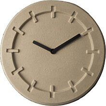 Pulp Time - Wanduhr - Rund - Beige