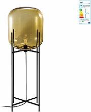 Pulpo - Oda Leuchte big, amber / Untergestell