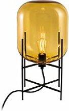Pulpo - Oda Leuchte, small, amber / Untergestell