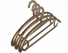 PuMaple 10 Stück,Kleiderbügel Kunststoff - Farben bunt gemischt , plastic hook copper color