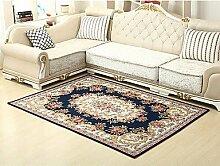 PuMaple Europäischer Stil Heimtextilien Teppich Sitzecke Teetisch Schlafzimmer Bett Matte Teppichboden Matte , braun