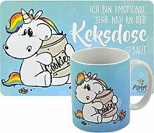 Pummeleinhorn Set Frühstück - Keksdose, 2 TLG.