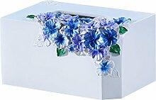 Pumpfach Wohnzimmer Tissue Box Home Pumping Kartons Papierschachtel Papier Serviette Draw Box Tissue Box Papierbehälter ( Farbe : A , größe : 20.5*15.5*10.5cm )