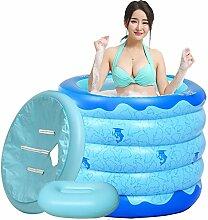 Pumpink Langes Isolierungs-aufblasbares Bad-Fass-Bad-Fass Erwachsenes faltendes Badewannen-starkes Plastikbad-Fass Doppelt-benutzen Baby-Swimmingpool