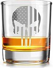 Punisher Amerikanische Flagge – Old Fashioned