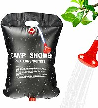Punvot Camping Dusche Set, 20L Solar Dusche Tasche