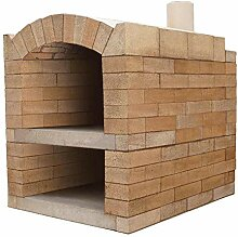 PUR Schamotte Pizzaofen Bausatz - Rom Basic XXL