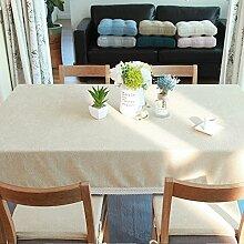 Pure color simple pastorale tischtuch,Tischdecke